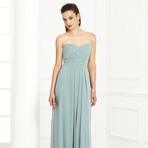 After Six Bridesmaid Dress 6669 Hunter Size 10 NWT